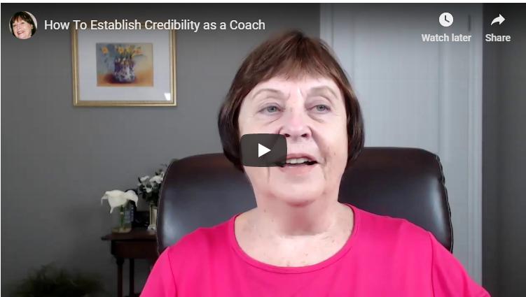 How To Establish Credibility as a Coach [Video]